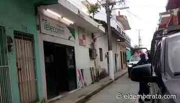 Solitario ladrón roba a TELECOMM de Misantla - El Demócrata