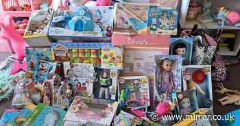 Mum's snap of huge Christmas present haul for toddler branded 'ridiculous'