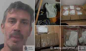 Dental technician found with £1million worth of cocaine will repay LESS than £6,000