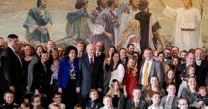 LDS leader Russell Nelson misses going to the hospital to welcome newborns into his family