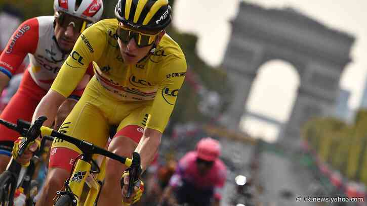 Pogacar finds glory in old-fashioned antic of cycling fast