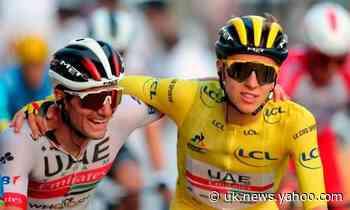 Tadej Pogacar the toast of Slovenia after a surreal Tour de France