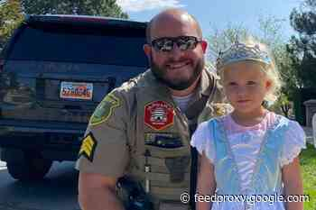 "Utah Officer Praised for ""Act of Love"" After Reviving Unconscious Girl"