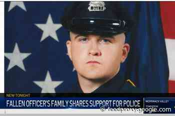 Family of Fallen Massachusetts Officer Urges Support for Police