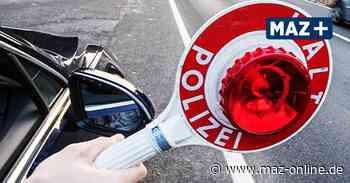 Marwitz: Polizisten erwischen Betrunkenen am Steuer – der randaliert und wird festgenommen - Märkische Allgemeine Zeitung