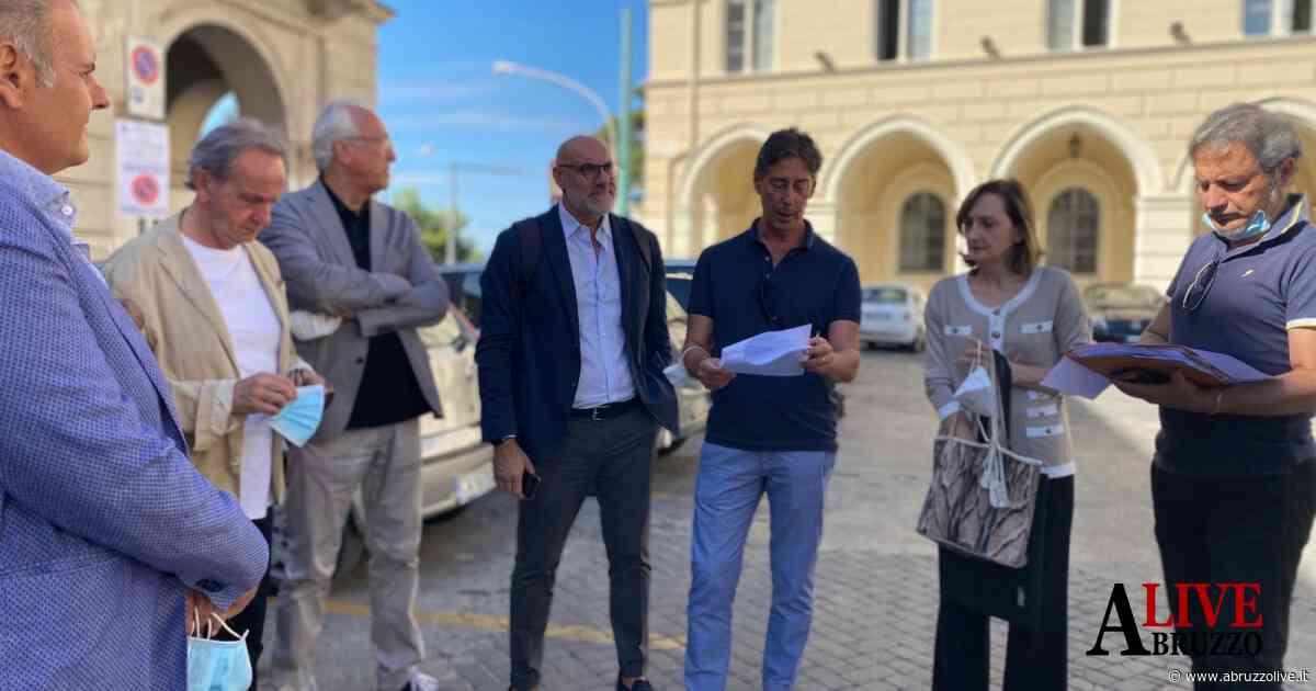 Chieti: consegnati i lavori per la riqualificazione di Piazza San Giustino - AbruzzoLive