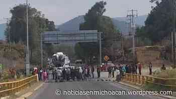 Para evitar contaminación de ríos comuneros de Zitacuaro impiden la entrada al municipio a la Guardia Nacional - Ummmcelona