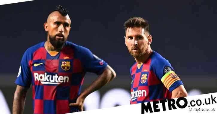 Lionel Messi sends message to Arturo Vidal as midfielder leaves Barcelona to join Inter