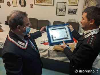 Il capitano Laghezza lascia Saronno per Avellino. Il saluto dell'associazione carabinieri - ilSaronno