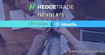 HedgeTrade(HEDG) partners with Bluzelle and Simplex - Product Release & Updates - altcoinbuzz.io