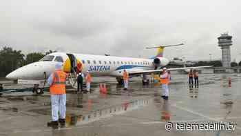 Inicia segunda fase de reactivación en el Aeropuerto Olaya Herrera - Telemedellín
