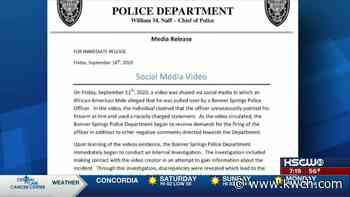 Bonner Springs Police warn of fake social media video - KWCH