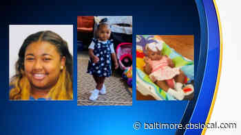 Baltimore Police Searching For Mother, 2 Children - CBS Baltimore