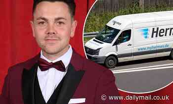 X Factor star Ray Quinn 'takes on job as Hermes delivery earning £11.40 per hour'