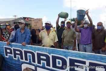 #FOTOS Habitantes de Ciudad Guayana protestan por falta de agua y gas domestico #15Sep - El Impulso