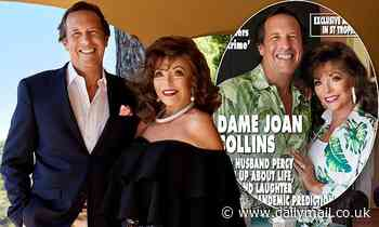 Joan Collins, 87, reveals she feels 'closer than ever' to her husband of 18 years Percy Gibson