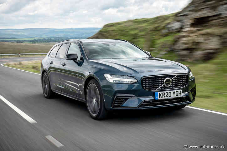 Volvo V90 Recharge T6 AWD R-Design 2020 UK review