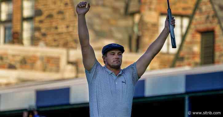 Bryson DeChambeau wins U.S. Open; Utahn Tony Finau ties for 8th place