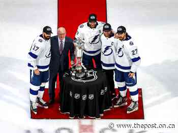 HUB CITY NOTES: Steven Stamkos unlikely to dress for Game 2 - The Post - Ontario