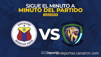 Pasto vs Jaguares EN VIVO ONLINE: Liga BetPlay 2020 - Deportes RCN