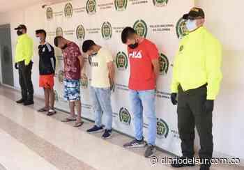 A la cárcel miembros de 'Los Caimanes', banda dedicada a robar en Neiva - Diario del Sur
