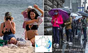 Wild weather to hit Australia's east coast with severe thunderstorms to smash Sydney this afternoon