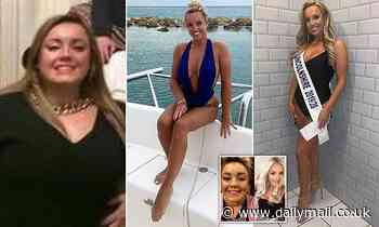 Model, 26, who lost eight stone to be crowned Miss GB says NOT 'fat-shaming' to call people 'obese'
