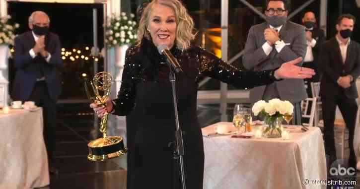'Schitt's Creek' dominates early at pandemic Emmy Awards