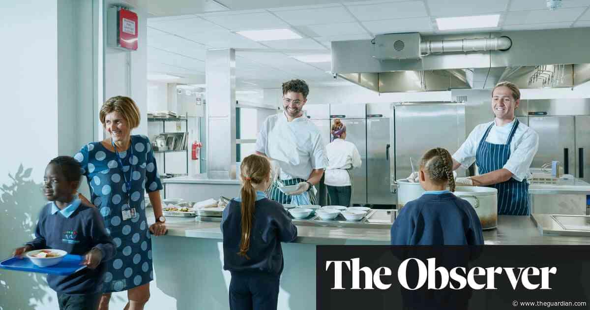 The restaurant chefs transforming  school meals