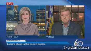 Busy week ahead in B.C. politics