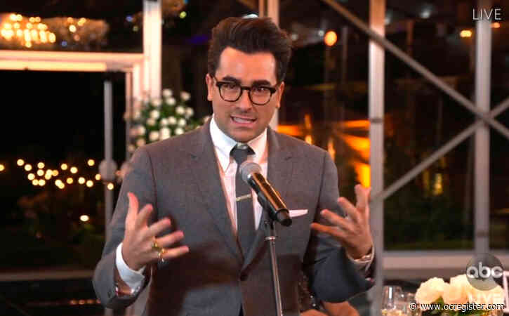 Emmys 2020: 'Schitt's Creek' wins first seven Emmy awards of the night