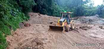 Continúa el cierre total autopista Medellín-Bogotá a la altura de Cocorná - Telemedellín
