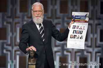 Letterman at Emmys: It's pronounced AWL-bany