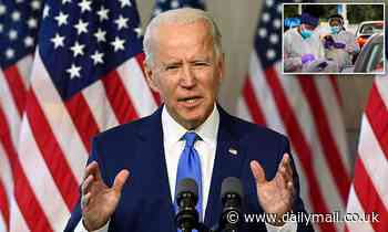 Joe Biden makes ANOTHER gaffe by saying that 200 million Americans  have died of COVID-19