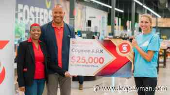 Scotiabank donates $25000 to Cayman's Ark | Loop News - Loop News Cayman