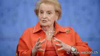 Madeleine Albright: «Was in Amerika passiert, ist die Hölle» - watson
