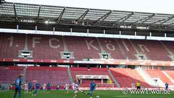 Hohe Verluste beim 1.FC Köln nach kurzfristigem Zuschauerverbot