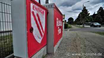 Vandalismus: Telekom lässt Finger von beschmierten Kästen in Spremberg - Lausitzer Rundschau