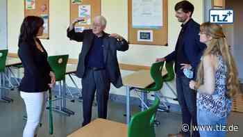 Friedenstein-Preisträger Kluge besucht Reyherschule - Thüringische Landeszeitung