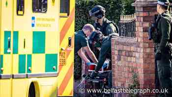 Councillor's plea as man injured in Belfast roof fall