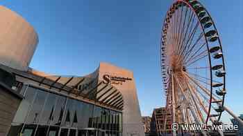 Riesenrad am Kölner Schokomuseum verschwindet im November