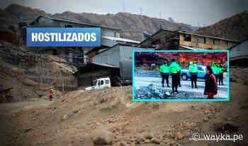 Morococha: Ciudadanos denuncian que minera Chinalco y PNP bloquean acceso a la ciudad - Wayka