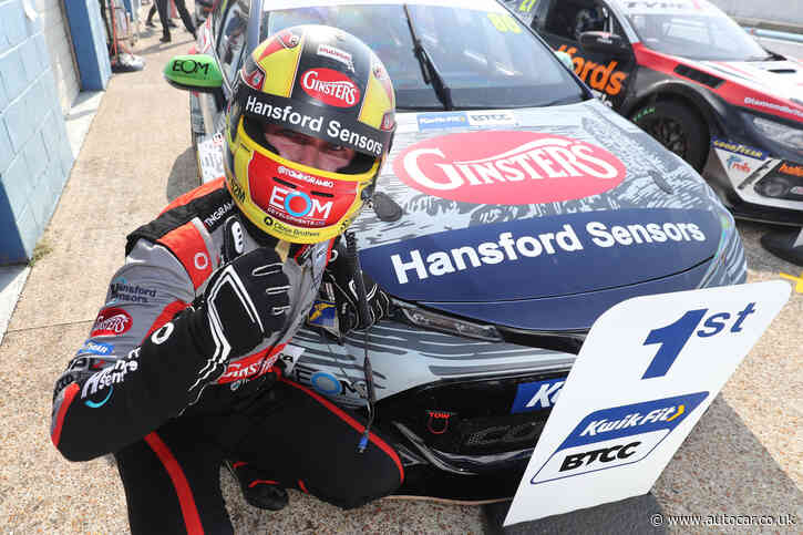 Toyota completes racing hat trick with BTCC win for Tom Ingram