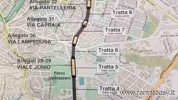 """Su viale Jonio arriva la ciclabile """"fast"""": così da Talenti alla metro si andrà in bicicletta"""
