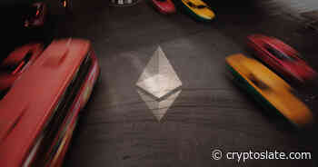Ethereum network congestion rockets as ETH supply moves into smart contracts - CryptoSlate