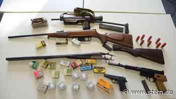 Nachrichten aus Deutschland: Much: Polizei beschlagnahmt Kriegswaffen und Munition - STERN.de