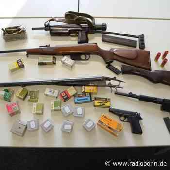 Polizei in Much entdeckt illegale Waffen - radiobonn.de