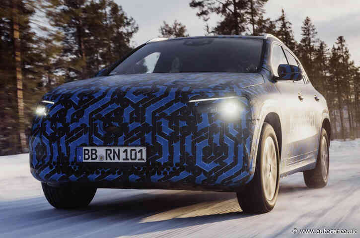 Mercedes-Benz EQA launch delayed to 2021