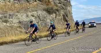 Cops for Kids Ride finishes 20th annual fundraiser in Kelowna - Global News
