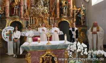 Erstkommunion in Reichertshofen gefeiert - Region Neumarkt - Nachrichten - Mittelbayerische